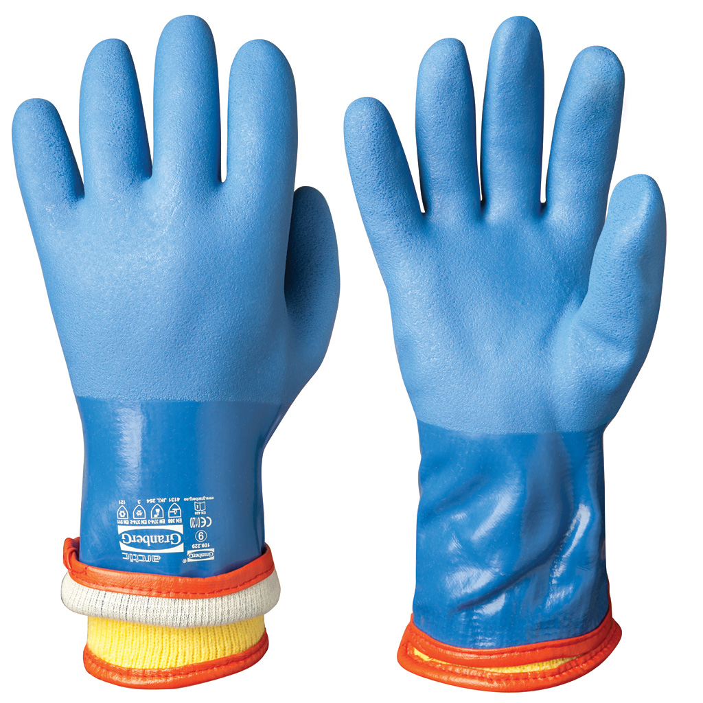 Vinyl Pvc Chemical Resistant Winter Gloves Chemstar 174 109
