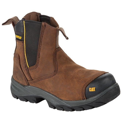 cat propane brown safety boot