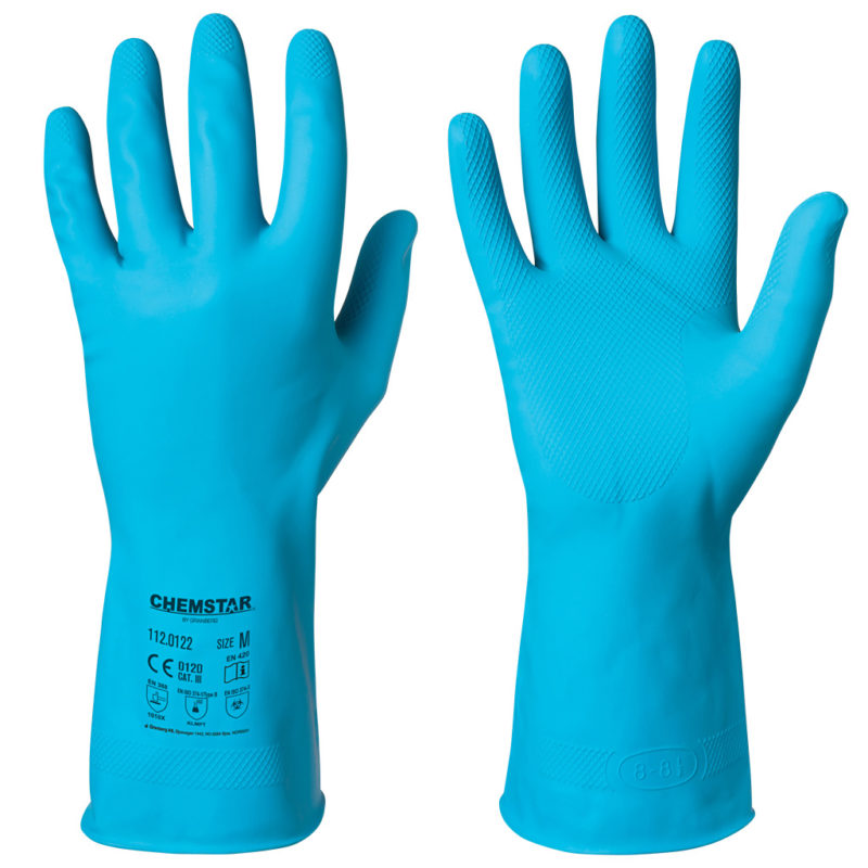 granberg latex chemical resistant gloves