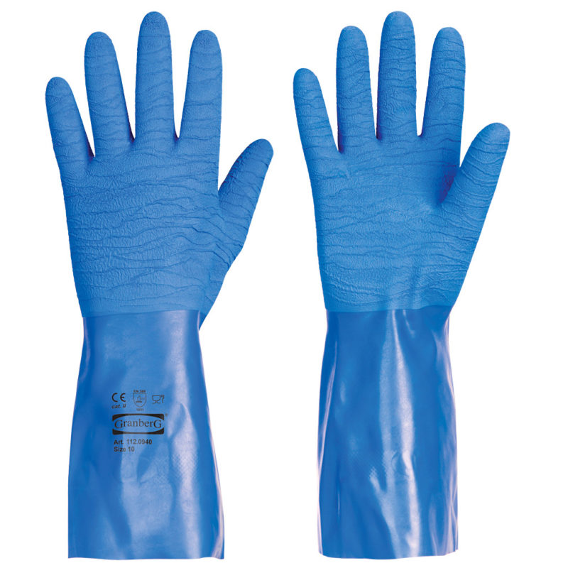 granberg waterproof rubber safety gloves