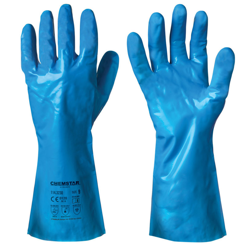 granberg nitrile chemical resistant gloves