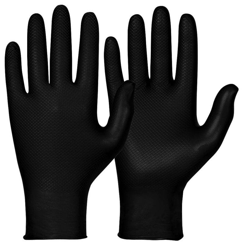 granberg black nitrile gloves