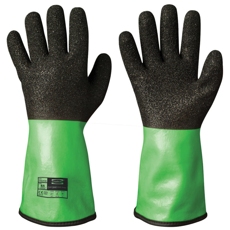 granberg vinyl PVC safety glove