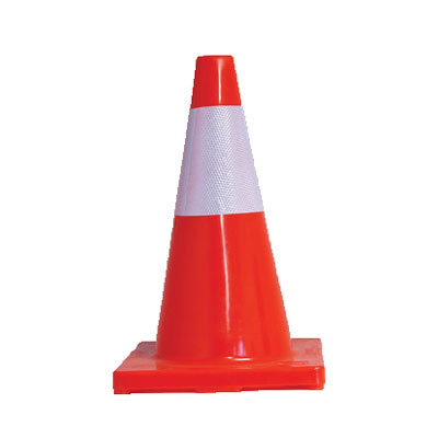 short road safety cone