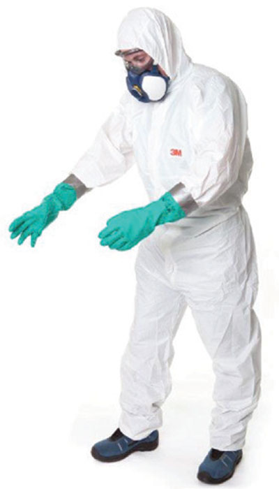 3M type 5/6 disposable coverall 4515