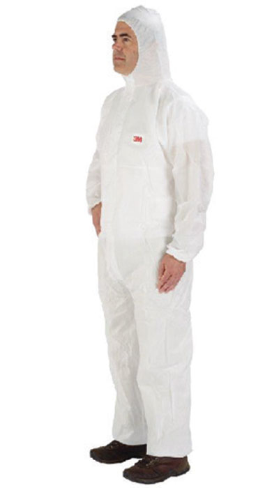 3M elasticated face coverall 4545