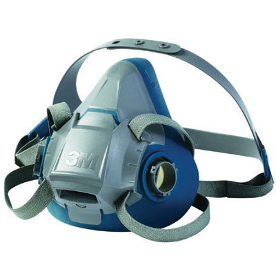 3m respiratory 6500 series half face mask