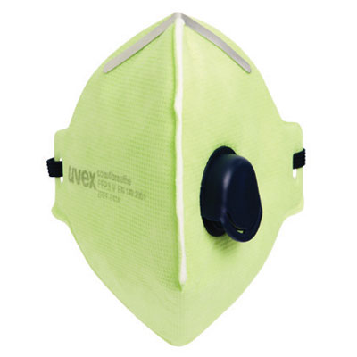 uvex respiratory com4 dust mask with valve