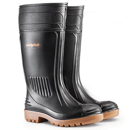wayne footwear egoli black gumboots