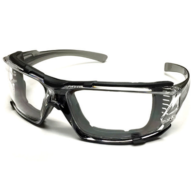 grey anti fog safety goggle