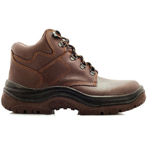 hiker brown safety shoe