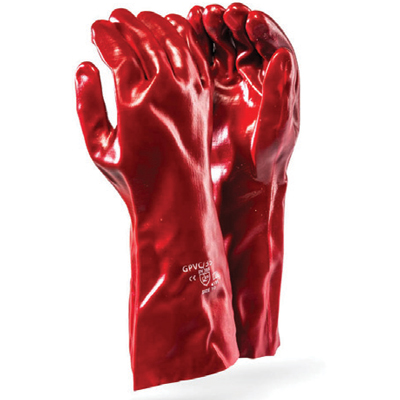 PVC elbow gloves