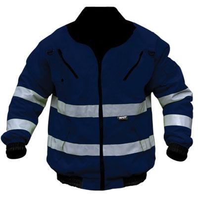 blue bunny reflective jacket