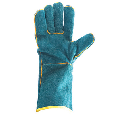 green welders glove