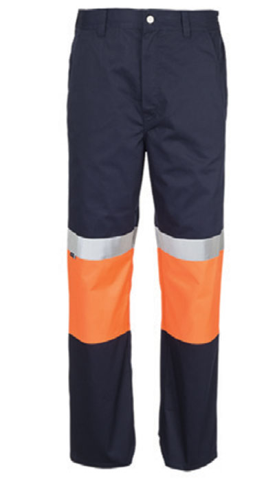 orange hi-viz workwear trousers