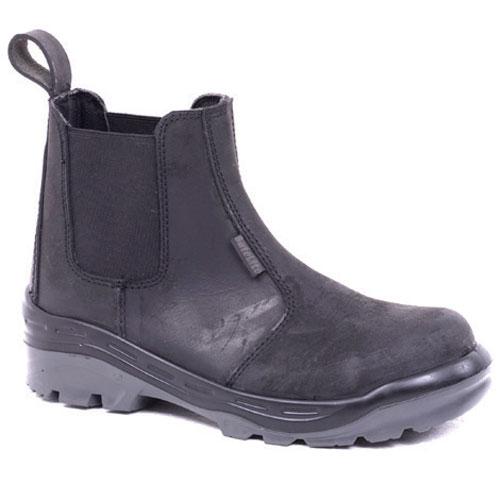 Neptun black chelsea safety boot