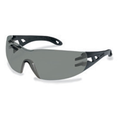 uvex pheos grey safety spectacles