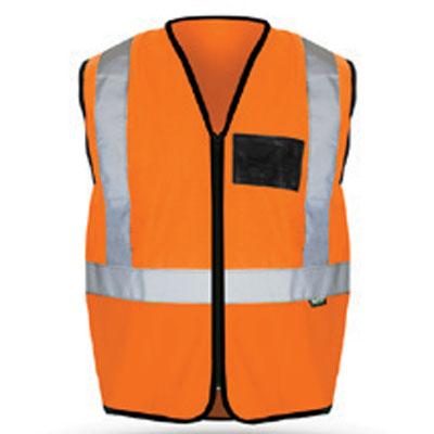 orange reflective vest eco