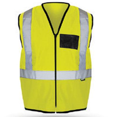 lime reflective vest