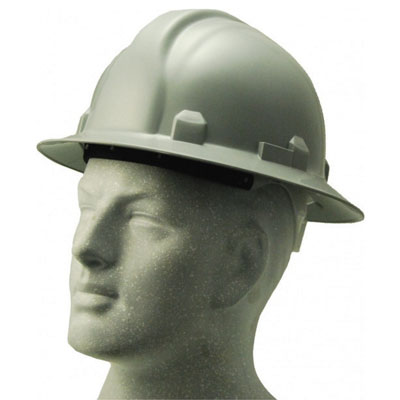 safety full brim hard hat