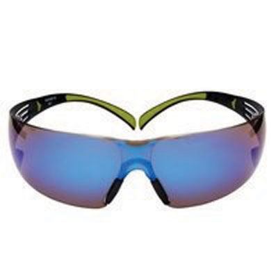 securefit blue mirror safety spectacles
