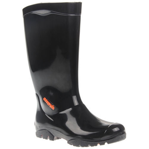 shova black gumboot