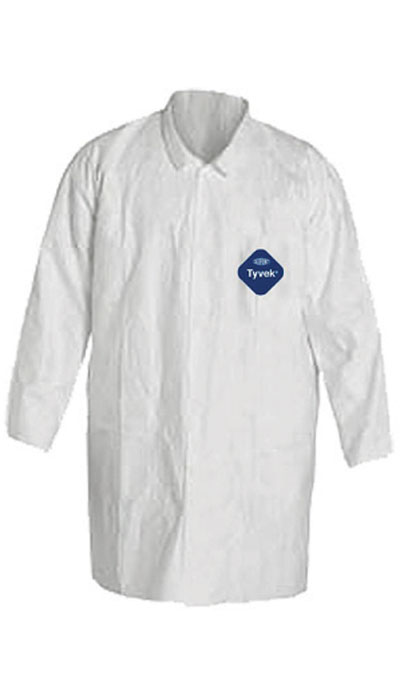 dupont tyvek 500 lab coat