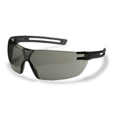 uvex x-fit grey safety spectacles