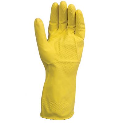 yellow household glove