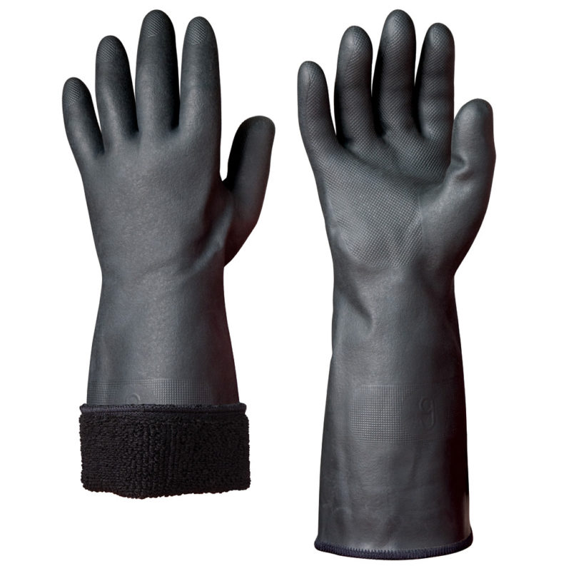 granberg black neoprene winter safety glove