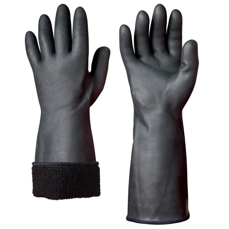 granberg black neoprene winter safety glove