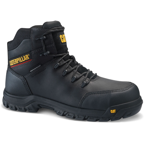 caterpillar resorption black safety boot