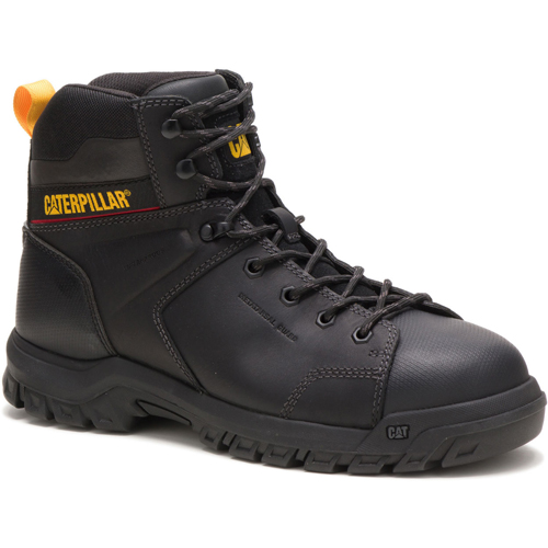caterpillar wellspring black safety boot