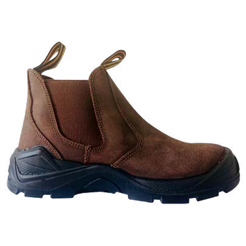 assassin brown safety boot