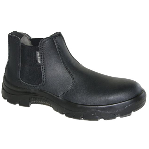chelsea black safety boot