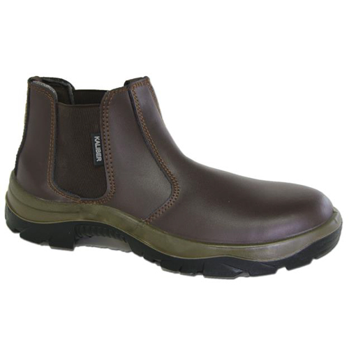 chelsea brown safety boot