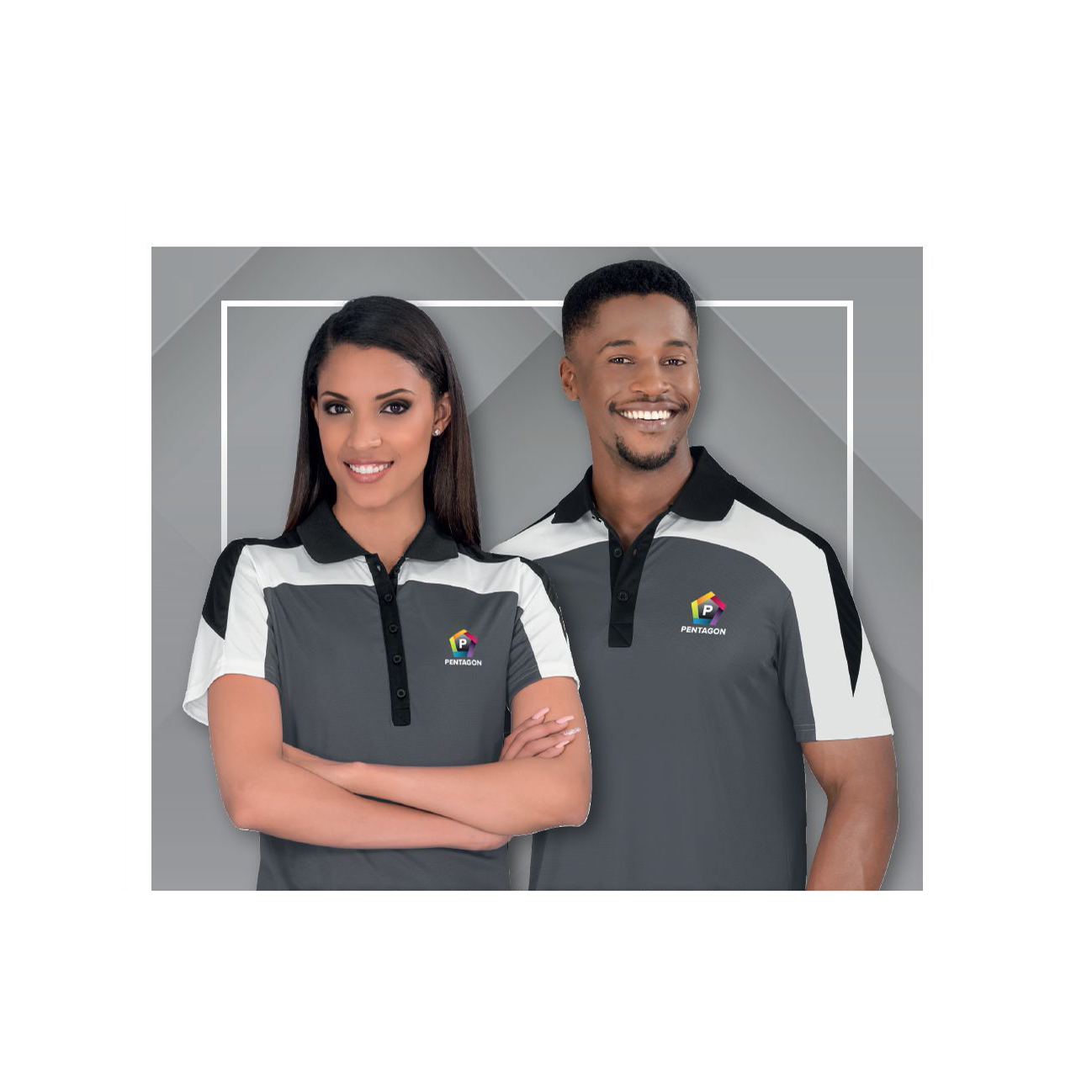 corporate clothing models