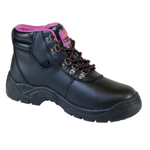 scarlet ladies safety boot