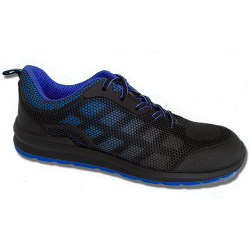 velocity blue safety shoe