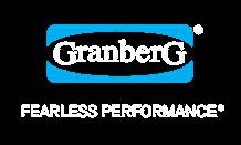 granberg gloves white logo