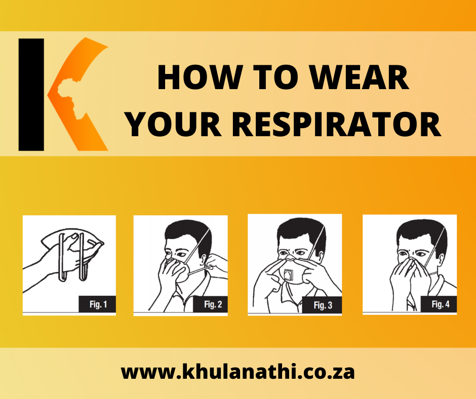 image on how to wear your respirator