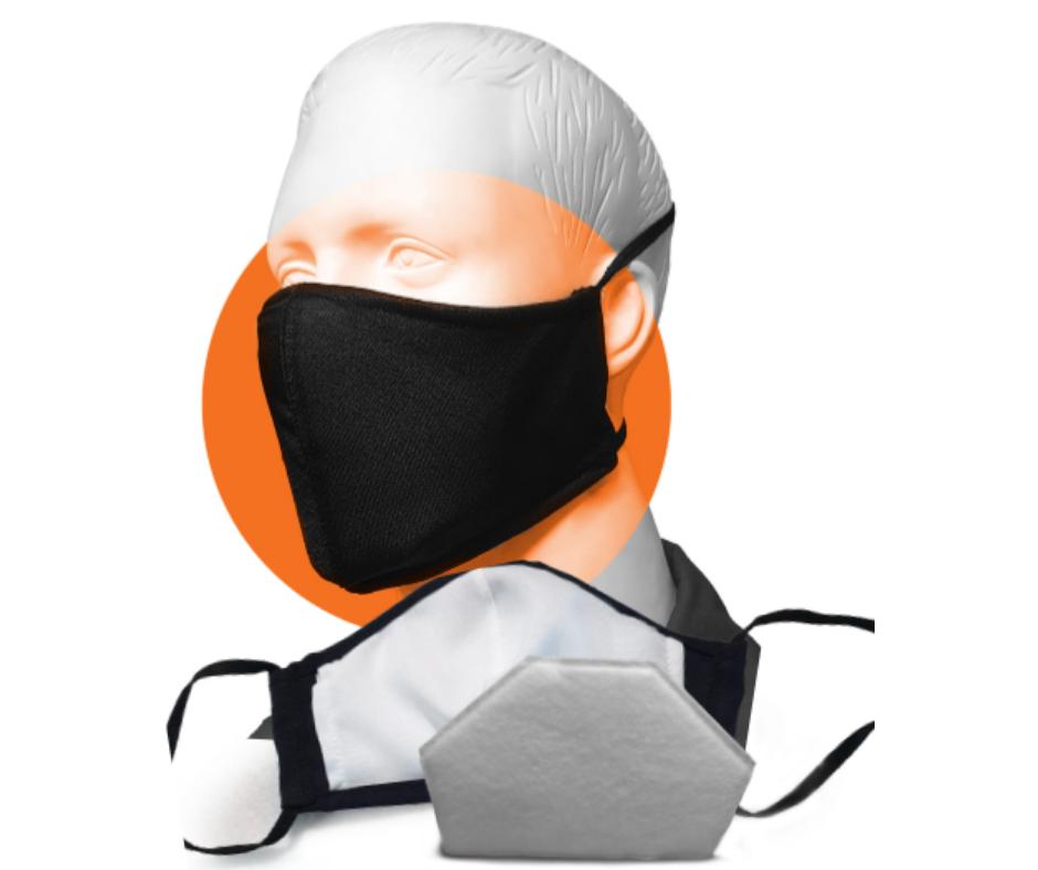 Nikki reusable fabric mask with filter