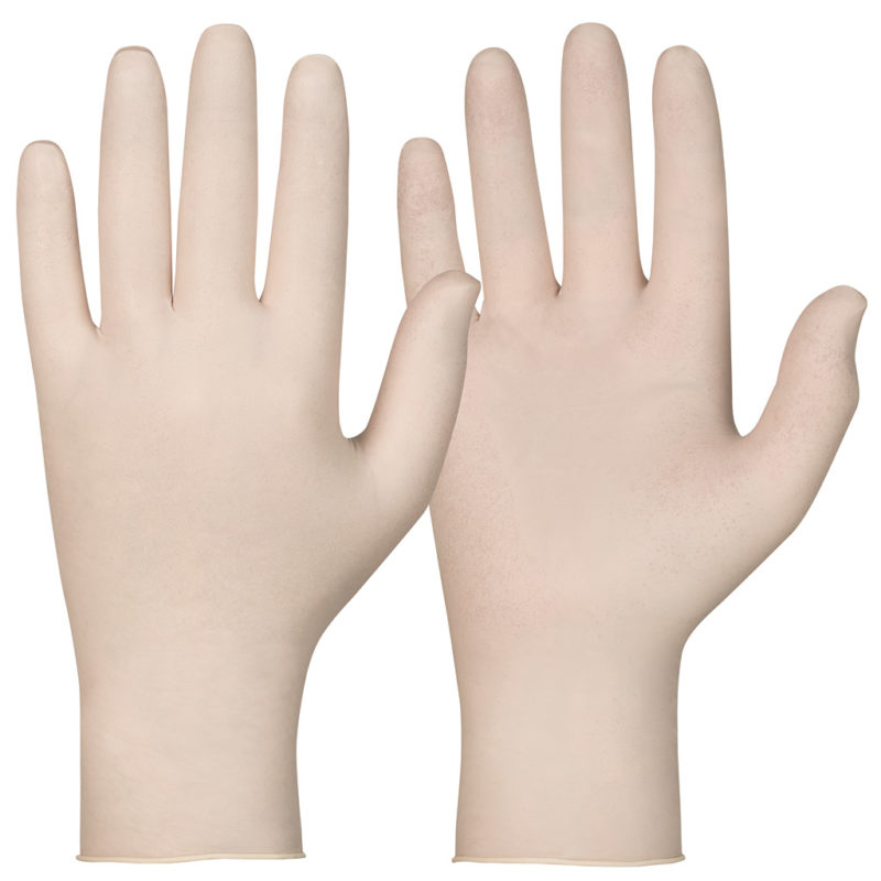 Granberg 112.110 latex white disposable gloves