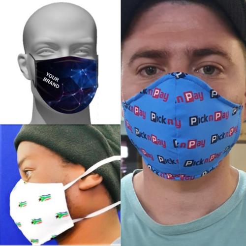 brandable fabric reusable face mask