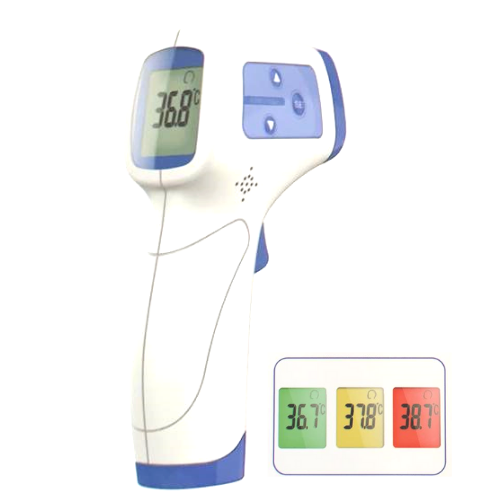 colour screen infrared thermometer