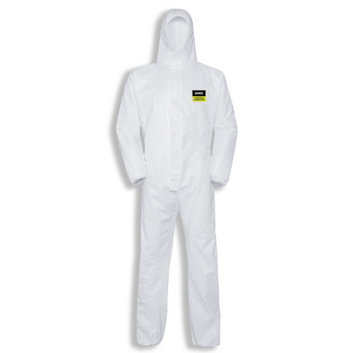 uvex type 5/6 disposable coverall