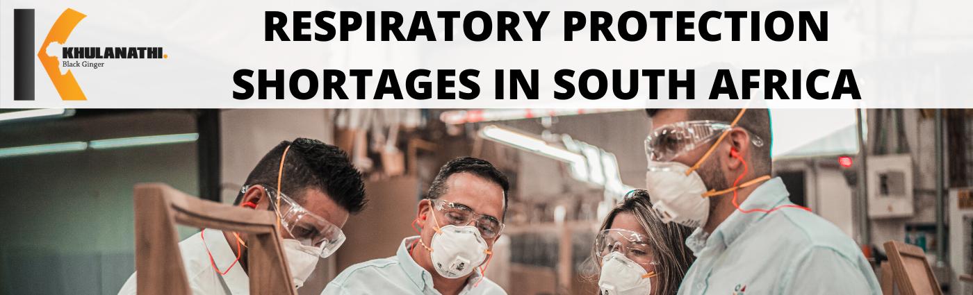 men wearing respiratory protection at work