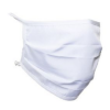 antimicrobial white fabric mask